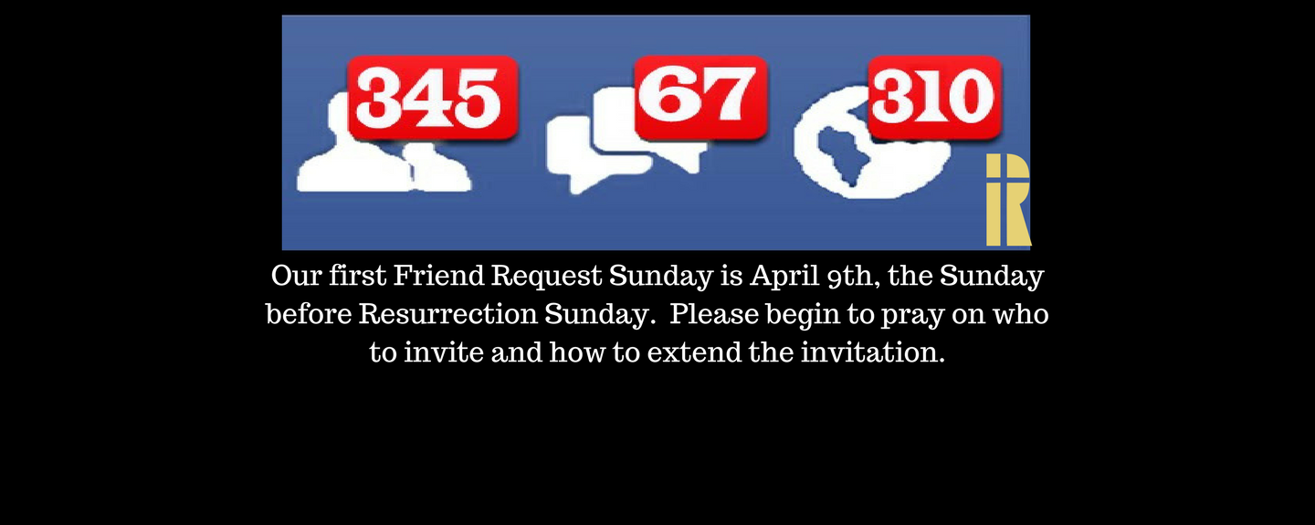 Friend Request Sunday