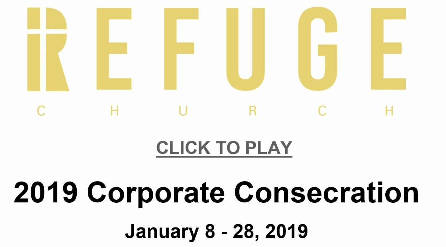 Refuge 2019 Corporate Fast